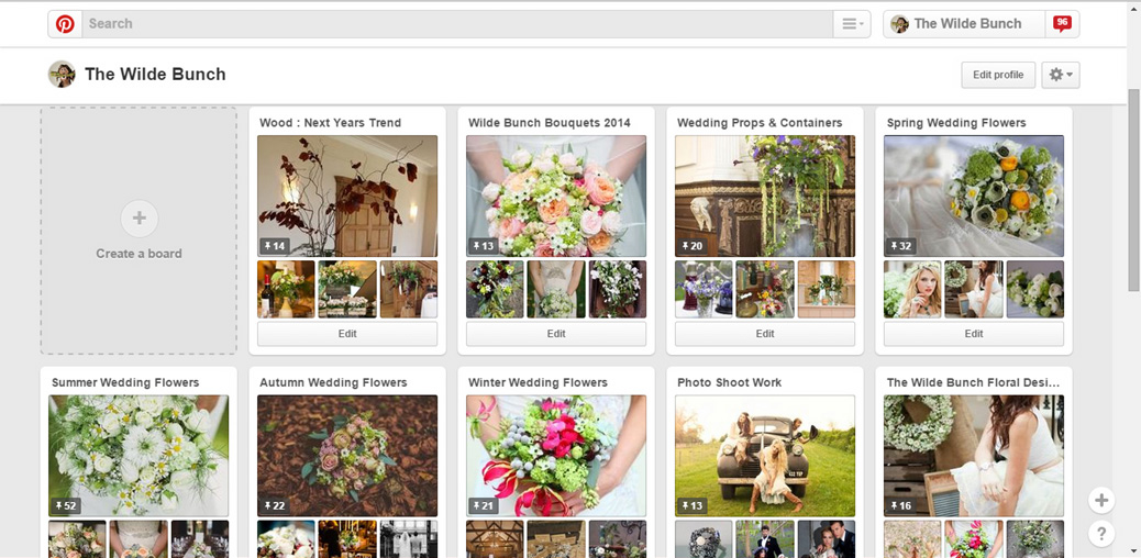 Wedding flowers on Pinterest