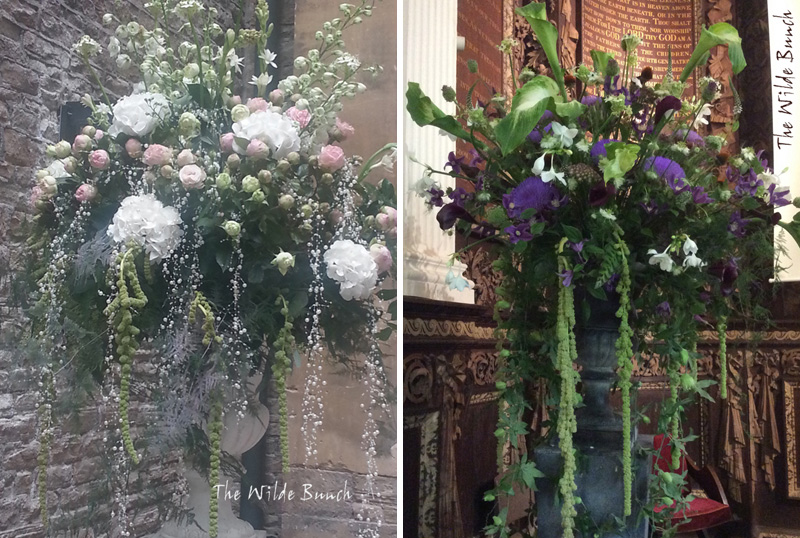 Wedding flowers : Plinths & Urns