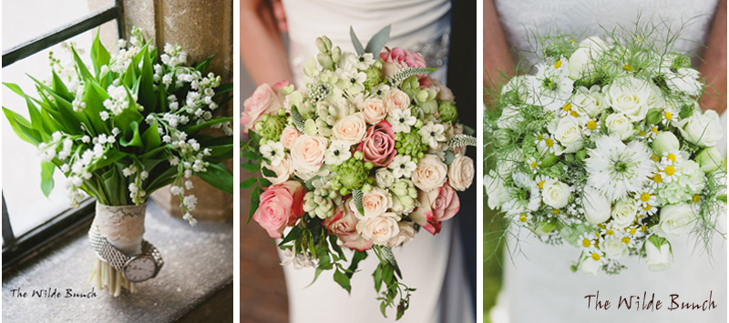 Brides bouquets in choosing a wedding florist