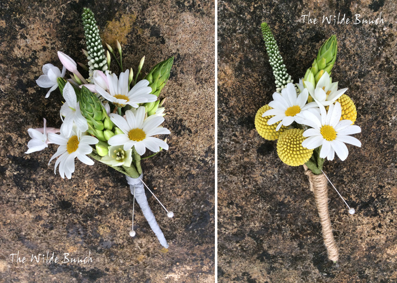 Simple Rustic Buttonholes