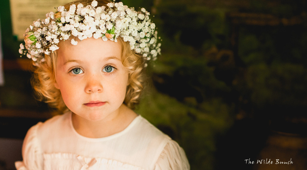 flower girl Floral crowns