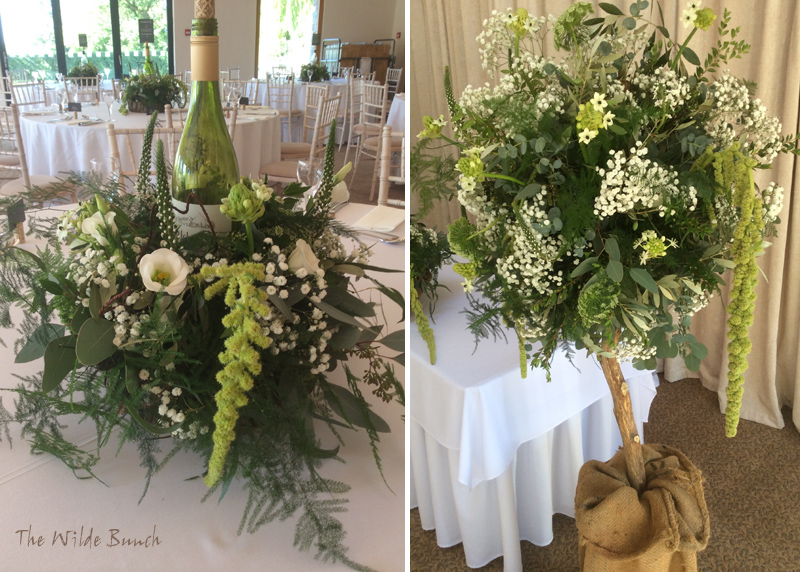 Clean & simple designs at Aldwick Farm Vineyard