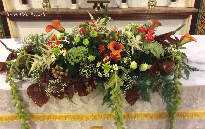 Altar flowers for Church Weddings